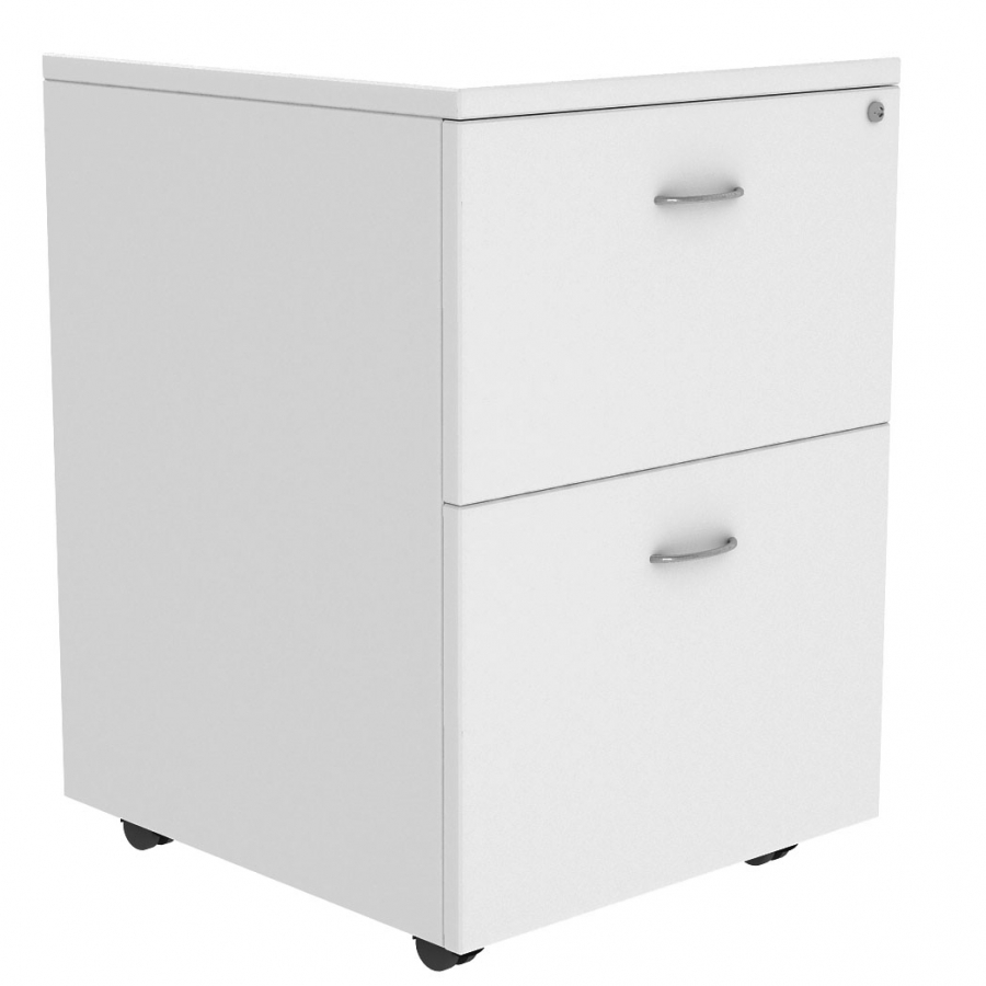 Diamond 2 File Mobile Pedestal